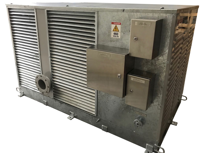 Industrial Compressors with Charge Air Cooling